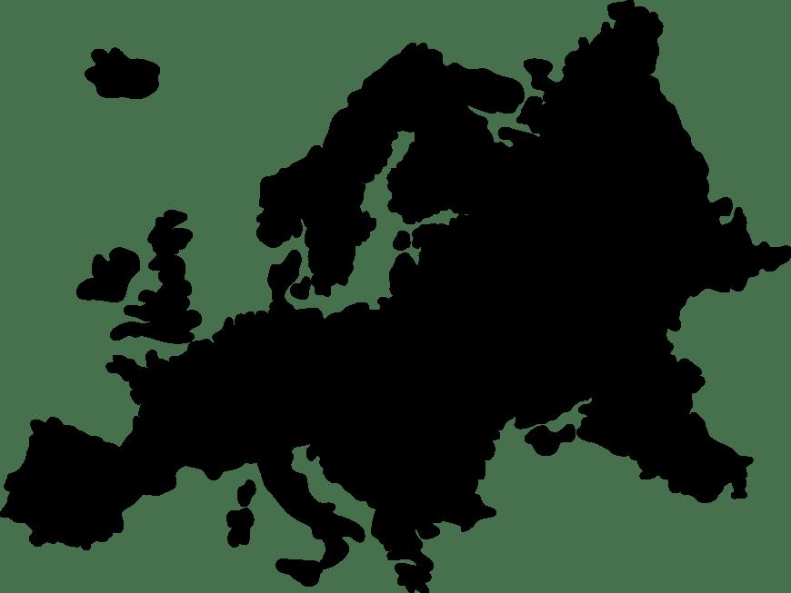 europe-silhouette