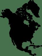 north-america-silhouette